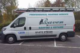 Raven Roofing and Repairs Van